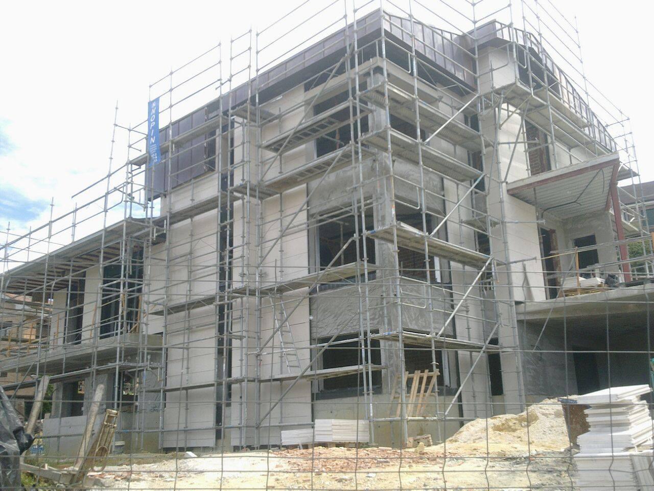 Trabajos realizados por mtrehabilitaci n mantenimientos - Fachadas ventiladas de piedra ...